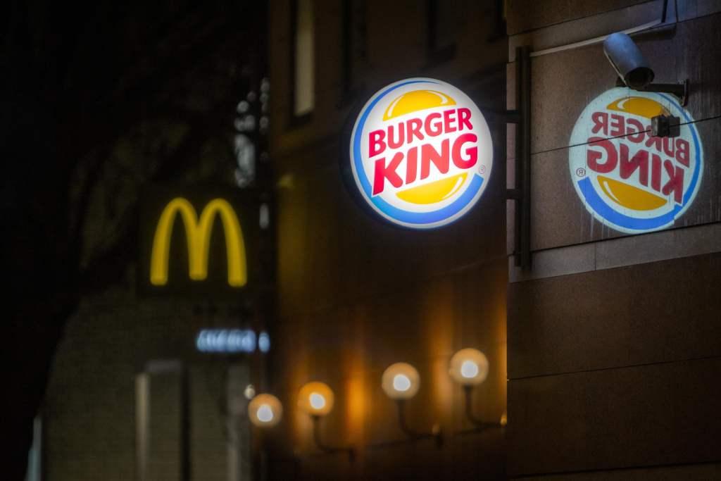 Burger King Fast Food Takeaway
