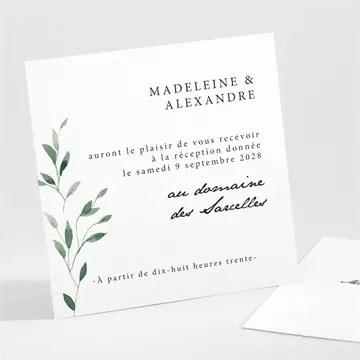 carton d invitation mariage a l ombre de l olivier