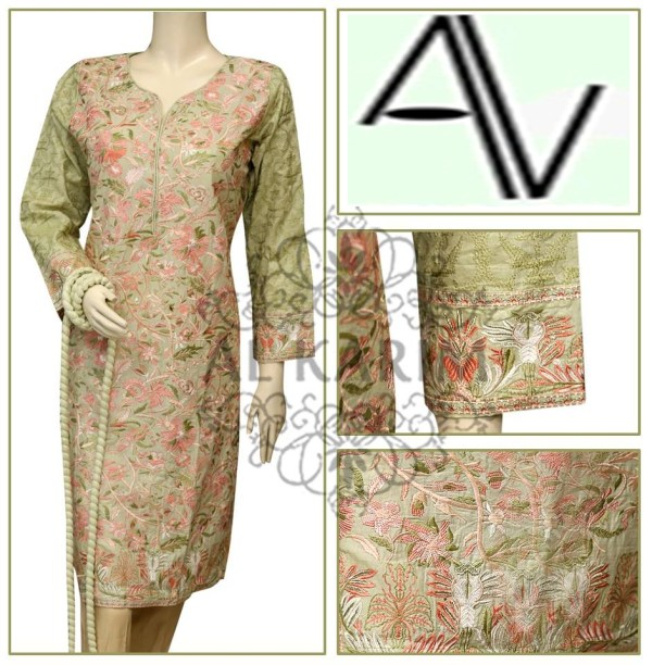 Product Code: D#60 Fabric: Lawn Price: 4595 PKR Sizes: Small- DETAILS: Exclusive resham emb work o shirt front and sleeves cuff , Note : Embroidery shirts have been styled in the image for photography and illustrative purposes. The standard style comes as a long sleeved kameez & dupatta.