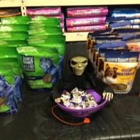 Vendor Halloween display