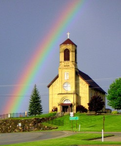 Rainbow @ St. Coletta's Church