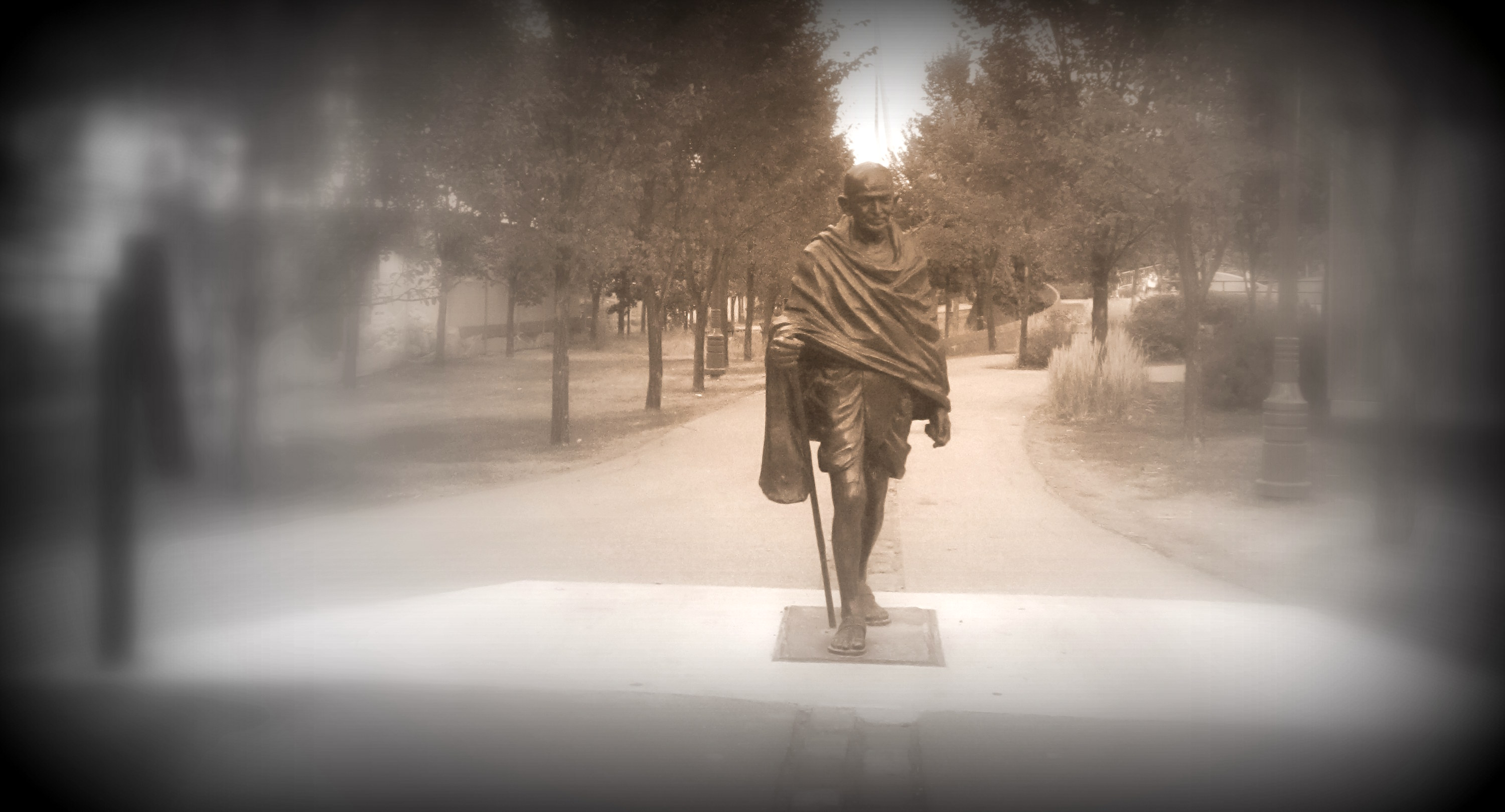 Gandhi in Winnipeg