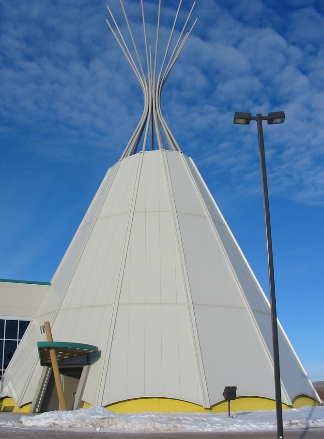 Treaty 4 Tipi @ Fort Qu'Appelle (2003)