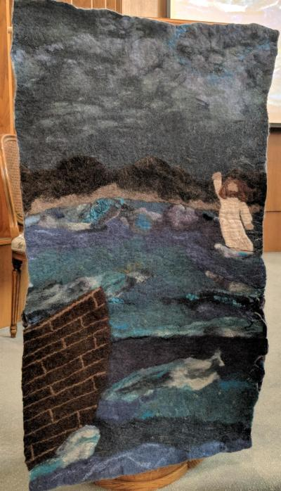A Felted Graduate's Gift