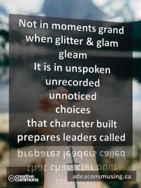 Leaders Called