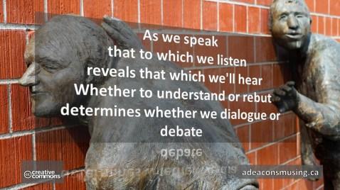 Speak * Listen