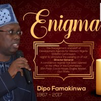 Celebrating Dipo Famakinwa, The Man, The Activist, The Enigma