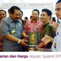 Varian dan Daftar Harga Alquran Syaamil 2015