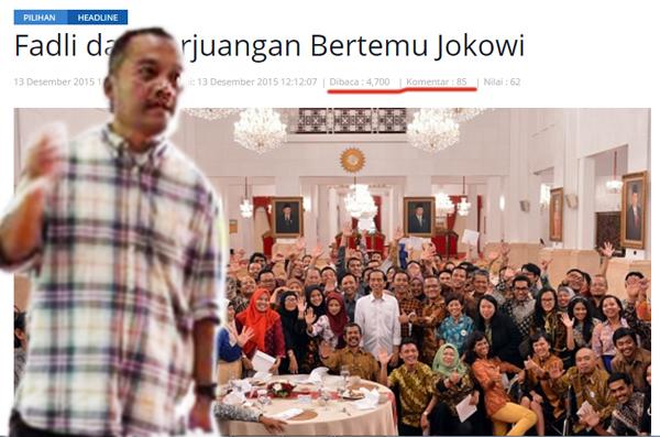 Syaifuddin Sayuti tulisannya dibaca 4700 kali dikomentari 85 per Jumat 25 Desember 2015