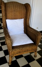 I was rather partial to this aran wicker chair