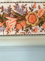 stylised floral border