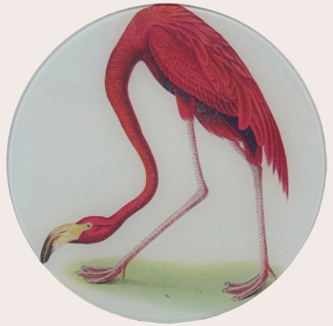 flamingo decoupage