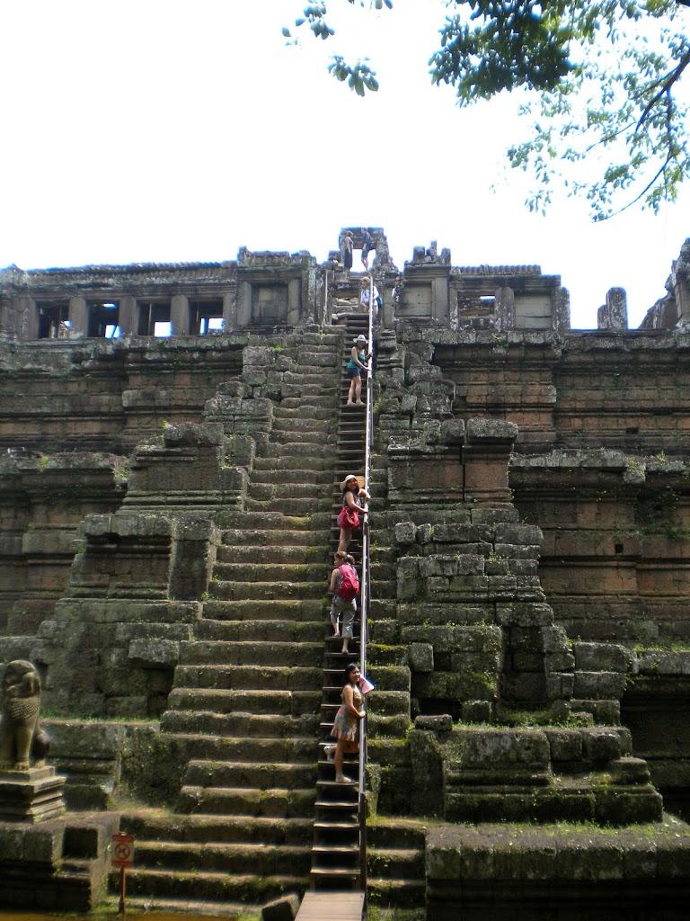 Cambodia steps