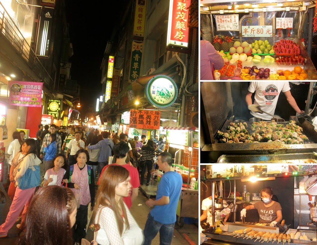 Taiwan Shihlin night market