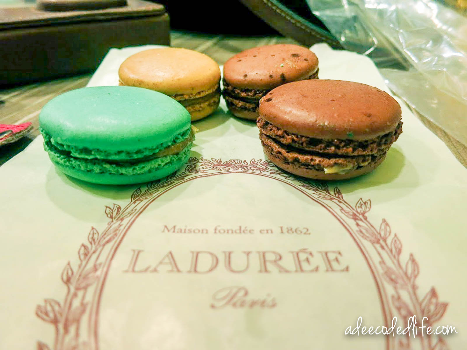 Laduree Singapore (Food Review) - A Deecoded Life