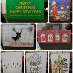 Christmas Card Exchange + Jolly Holly Holiday Tag