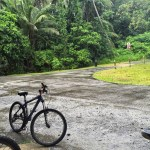 Biking in the Rain @ Pulau Ubin