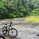 Biking in the Rain @ Pulau Ubin