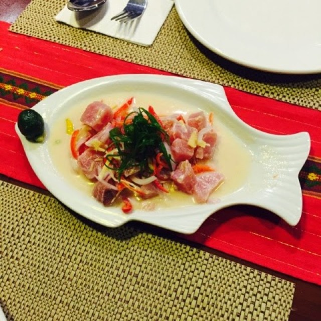 Kinilaw or Filipino Ceviche