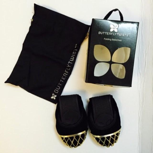 Butterfly Twists foldable ballerinas