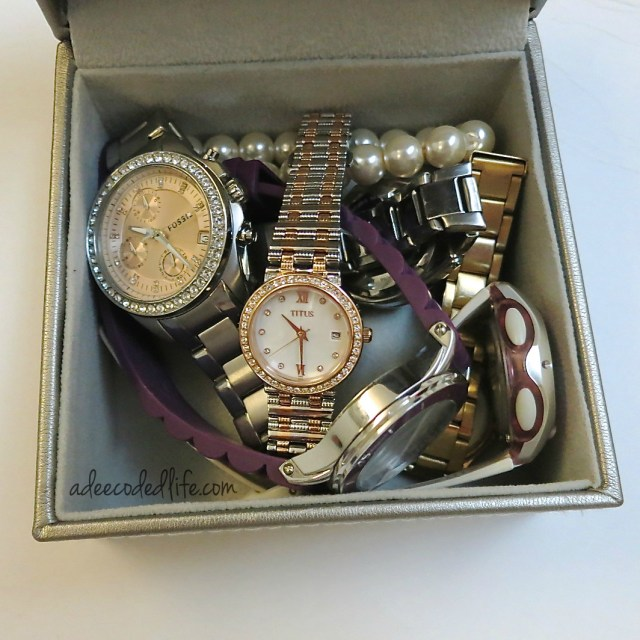 Box of watches