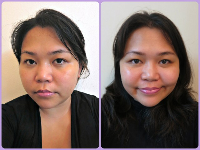 Palmer's Skin Therapy Oil before after