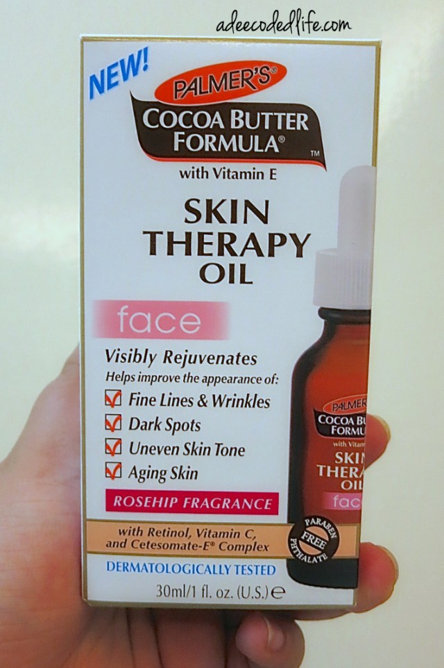 Palmer's Skin Therapy Oil box