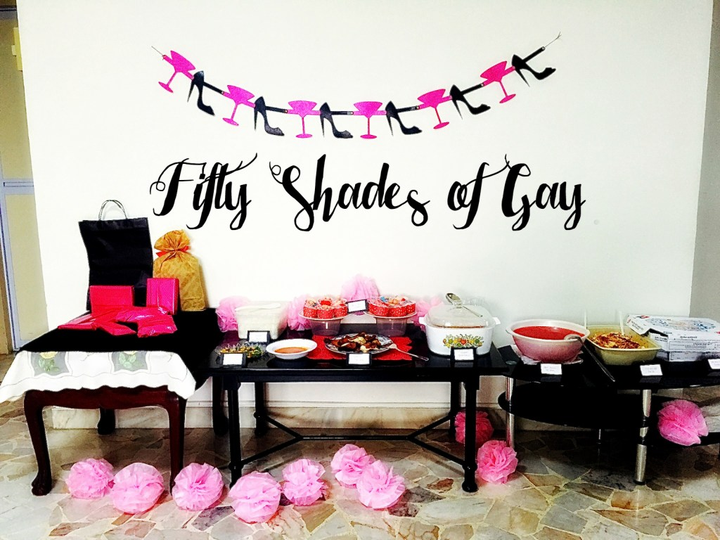 fifty shades of gay bridal shower