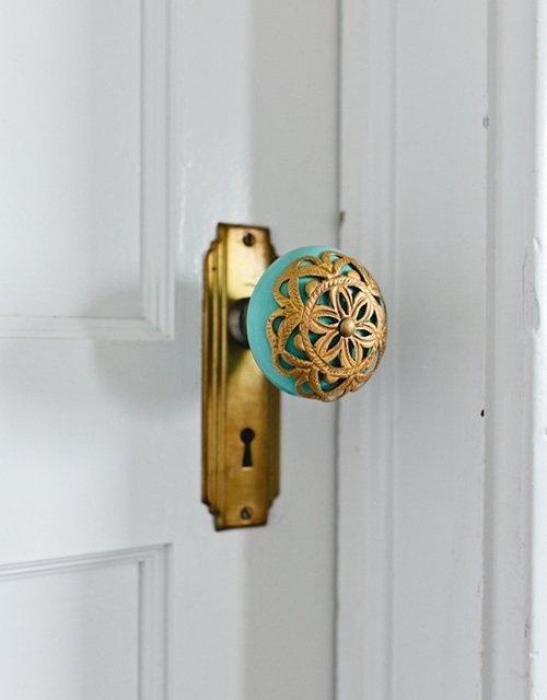 torquoise-lace-door-knob