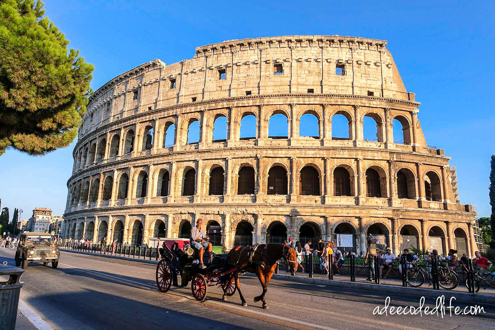 Rome Colosseum-1