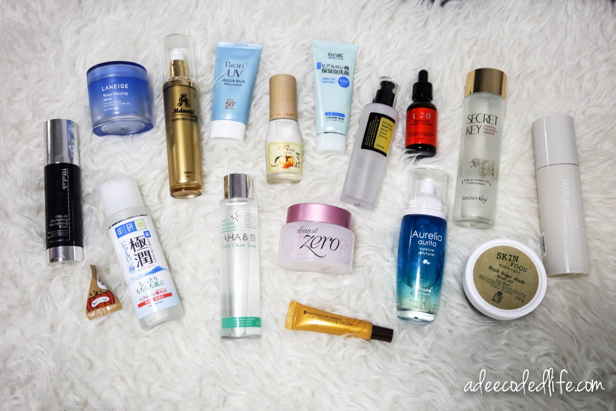 My Asian Beauty Skincare Routine