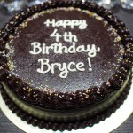 Bryce's Birthday (In Which I Win a Painting Contest)