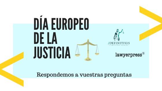Respuestas día europeo de la justicia