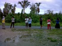 Mencari signal berjamaah :)