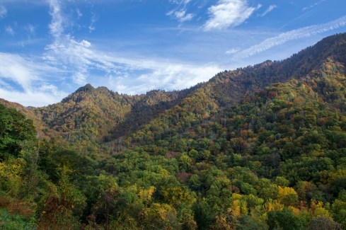 Mountain, Overlook, Great Smoky Mountain National Park, TN