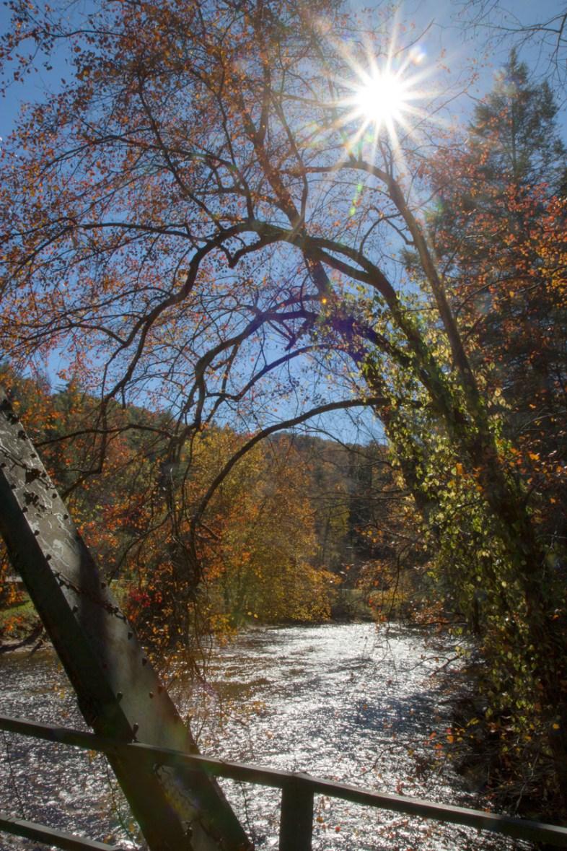 Bridge overlook, Aska Road, Blue Ridge, GA
