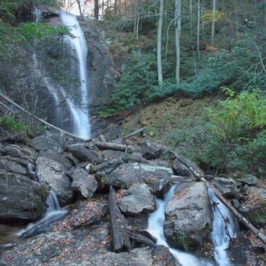 Upper Falls, Anna Ruby Falls, Helena, GA © Adel Alamo 2014