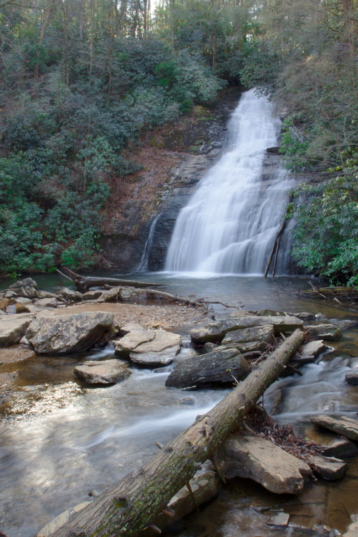 Helton Creek Falls, Chattahoochee National Forest, Union County, Georgia © Adel Alamo 2014
