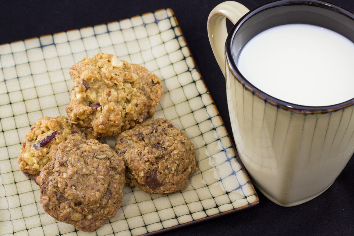 Oatmeal anything cookies, thekindercook.com