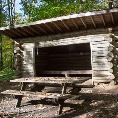 Bunker, Sam's Gap Trail, Appalachian Trail, Mars Hill, NC © Adel Alamo 2015
