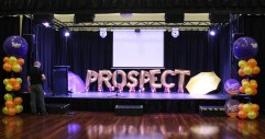 Prospect Town Hall celebrations to inaugrate the event