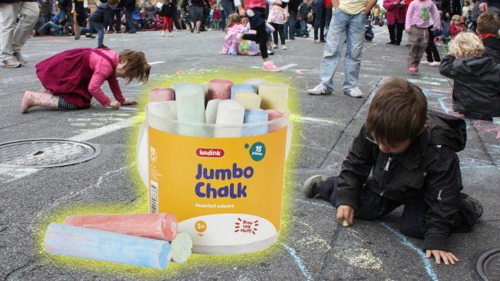 Adelaide Coloured Chalk Crisis