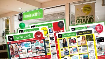 Cost effective advertising led to Harris Scarfe's demise