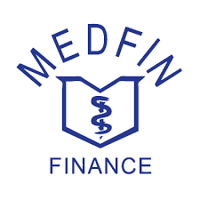 Medfin Logo - White