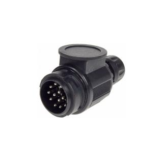 Euro Round Trailer Plug 13 Pin