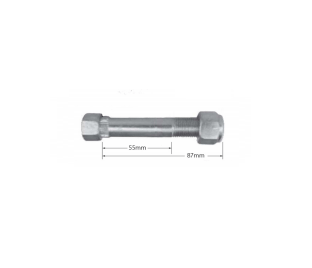 Shackle Spring Bolt 16mm
