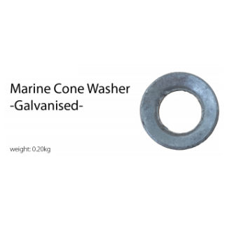Marine Cone Washer - Galvanised
