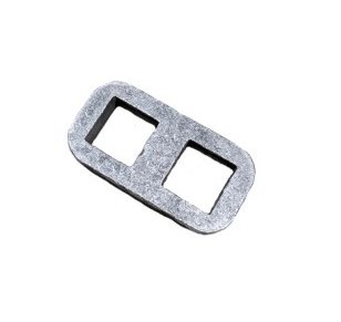 Drop Axle Plate - 50mm Square X 3 Inch Drop