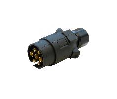 Large Round Trailer Plug 7 Pin