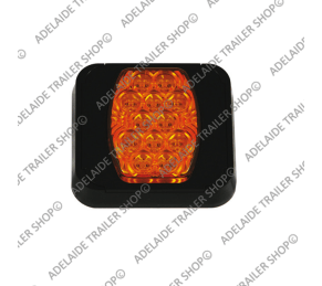 Led Trailer Light - 80 Series - Amber